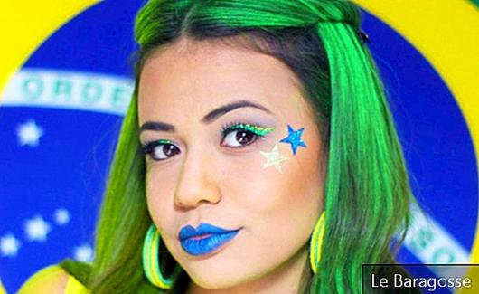 Cup Makeup: 25 Creative Ways to Cheer for Brazil