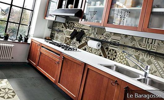 Hydraulické dlaždice: Přinášejí osobnost kuchyňské dekoraci