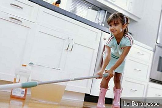How children can contribute to household chores