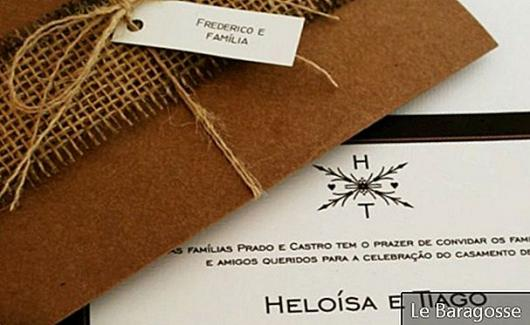 How to Make a Rustic Wedding Invitation at Home