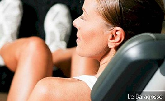 Gym exercises for toning the legs