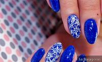 45 inspirations of blue decorated nails that will delight you