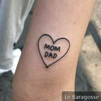 Father and Mother Tattoo: 85 Options to Register This Love on the Skin