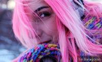 Pink Hair: See 55 Inspirational Bibs and Throw Yourself