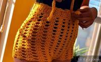 Crochet Shorts: 50 photos et tutoriels pour un morceau de Supercharm